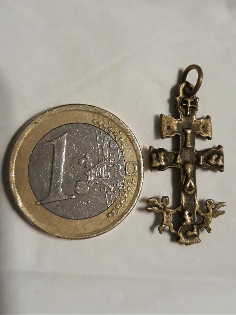 Cruz de Caravaca con ángeles, S. XVIII- pp. S. XIX 20180312