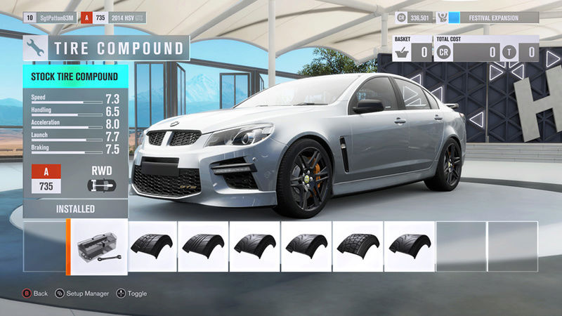 FH3 Time Attack | Stock Car Challenge #27 (2014 HSV GTS) Stock_16