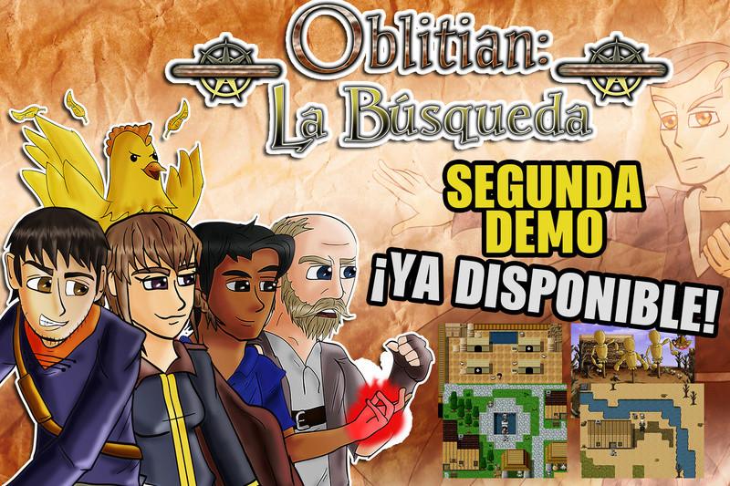 """Demo """"Oblitian: La Búsqueda"""" (2017) [VxAce] Demo10"""