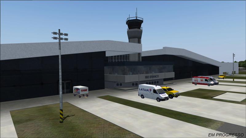 aeroporto - [DESENVOLVIMENTO] SBRB - Aeroporto Internacional Plácido de Castro Print_10