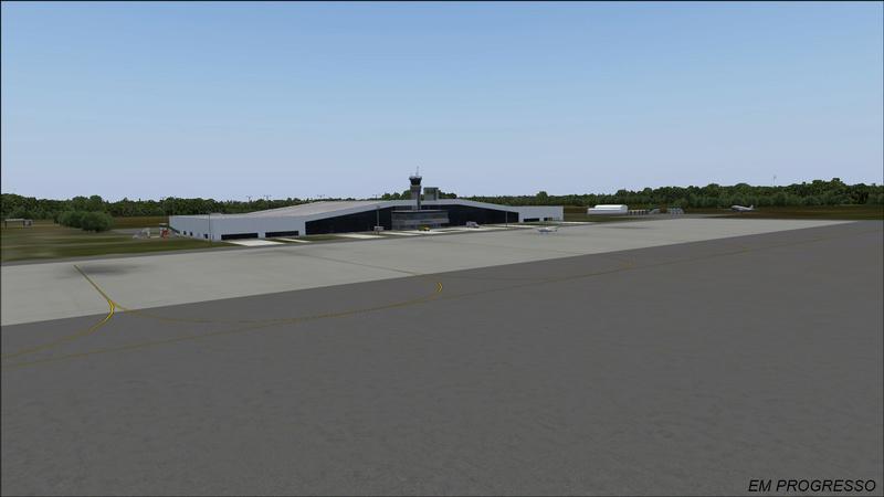 aeroporto - [DESENVOLVIMENTO] SBRB - Aeroporto Internacional Plácido de Castro Print_12