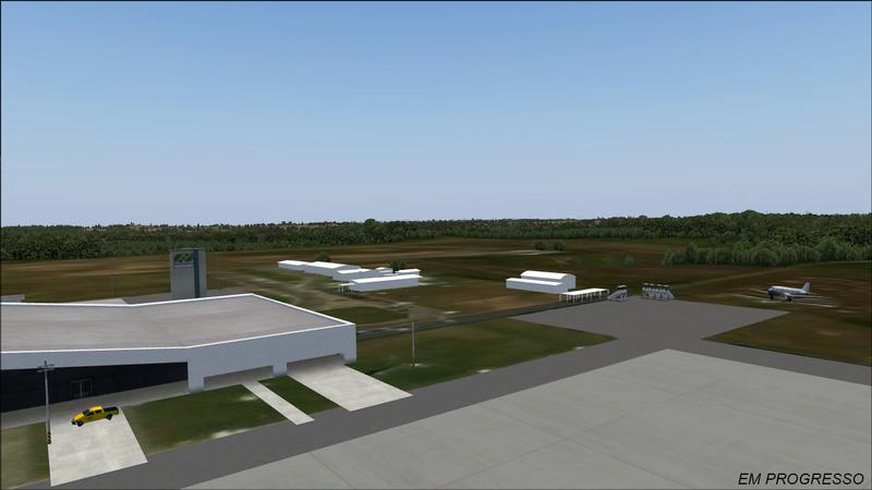 aeroporto - [DESENVOLVIMENTO] SBRB - Aeroporto Internacional Plácido de Castro Print_13