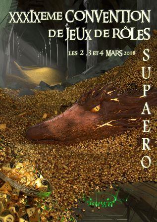 39ème convention de JDR de Supaero, Toulouse 2-4 Mars Affich11