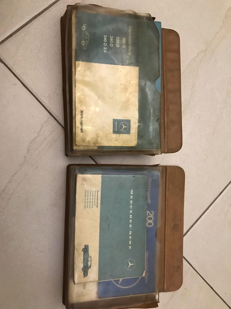 (VENDO) Manuais Originais Antigos Mercedes - 230/250/280 entre 1967 e 1975. Whatsa11