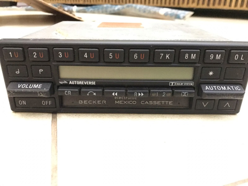 Rádio Becker Mexico Eletronic Cassete - R$ 600 - Vendido Whatsa14