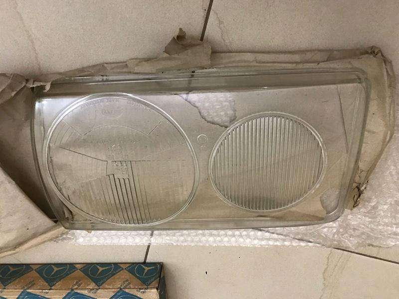 (VENDO) Vidro do Farol Hella - W123 - R$ 150 Whatsa26