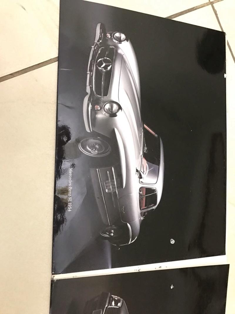 (VENDO) Catálogo antigo Mercedes SL - R$ 80 Whatsa34