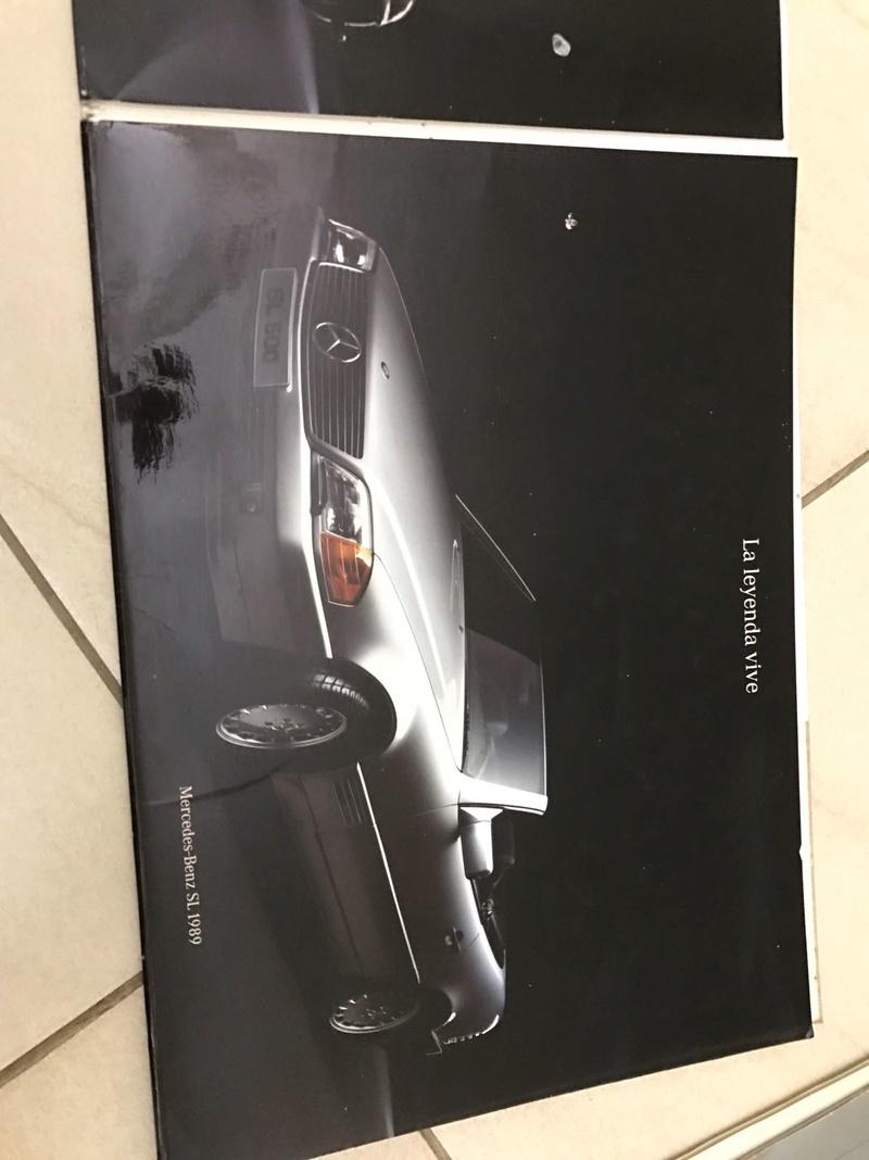 (VENDO) Catálogo antigo Mercedes SL - R$ 80 Whatsa35