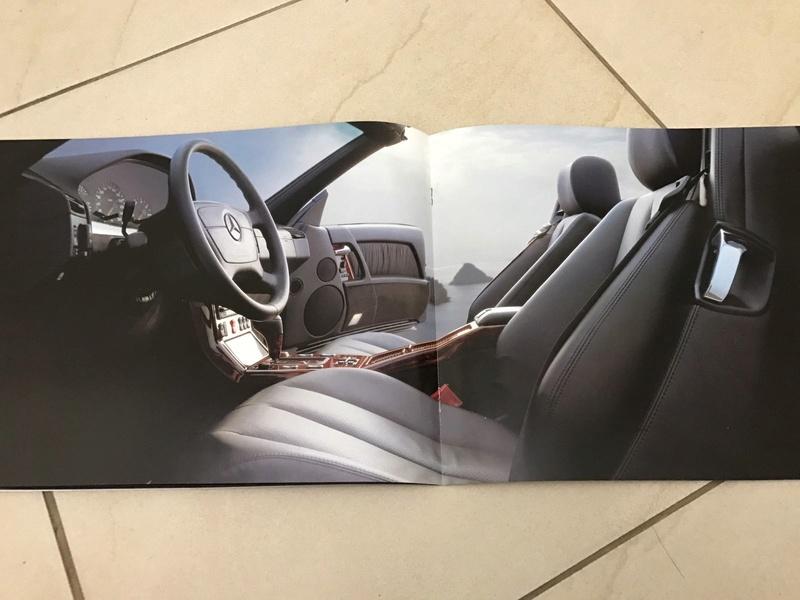 (VENDO) Catálogo antigo Mercedes SL - R$ 80 Whatsa37