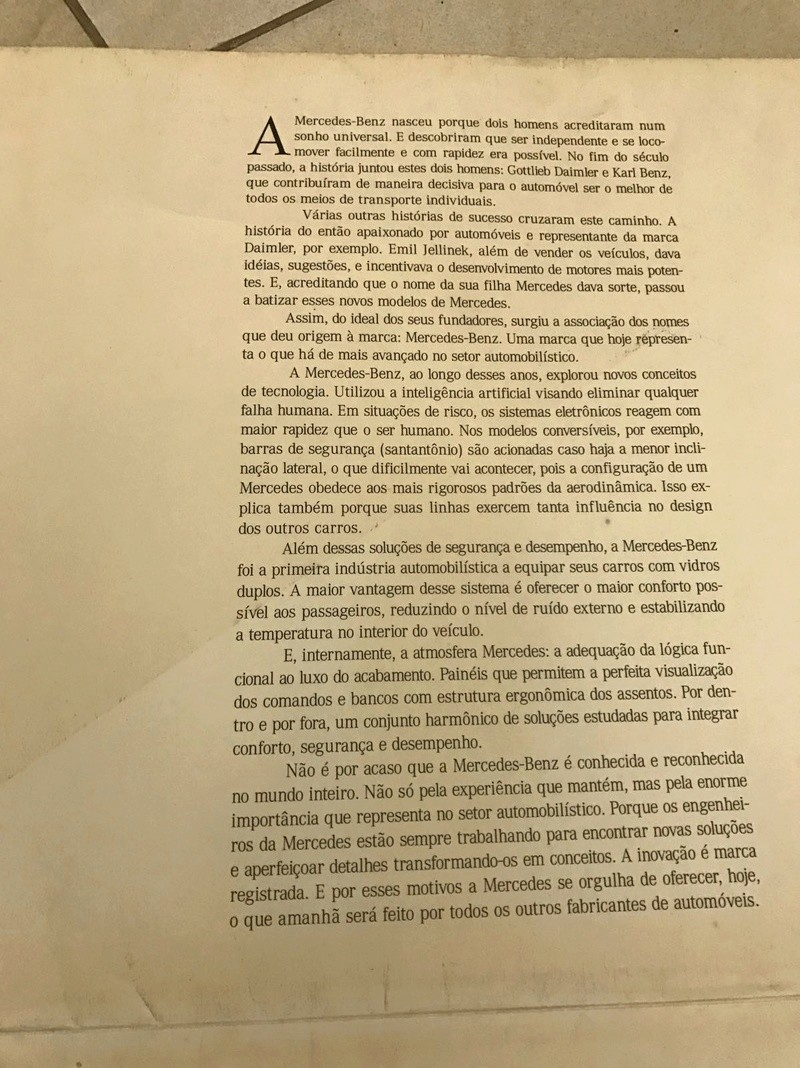 w202 - (VENDO) Catálogo Antigo Classe C (W202) - R$ 80 Whatsa43