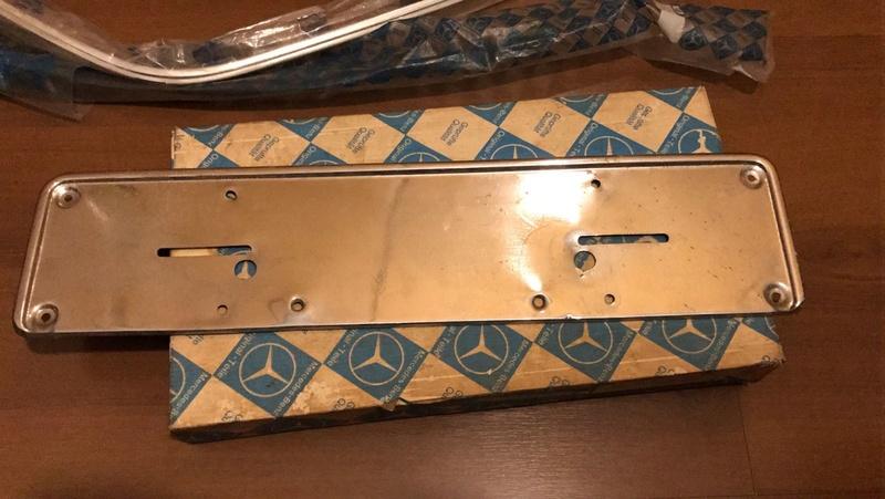 (VENDO): Suporte da placa dianteiro - W114/115/116/R107 - R$150,00 Whatsa56