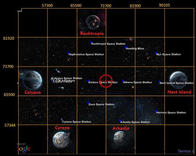 Mapas de Calypso - Localizações  Image10