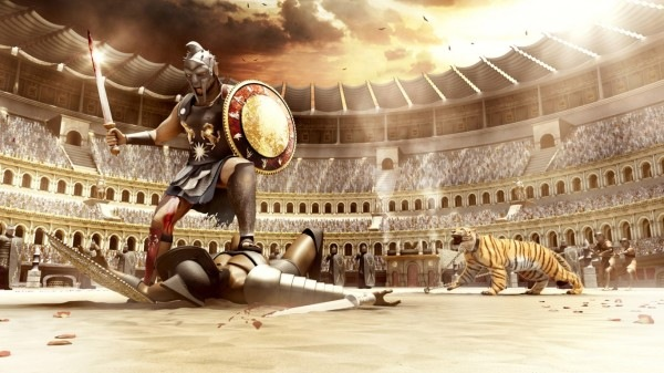 Coliseu - panem et circenses Gladia10