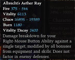 """Warlock """"Solael's Chaos Ray"""" Aether10"""