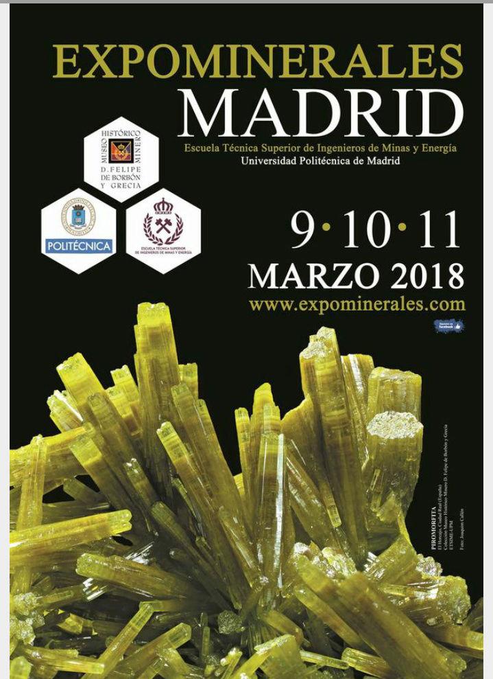 Feria de la Escuela de Minas de Madrid -    2018 20171222