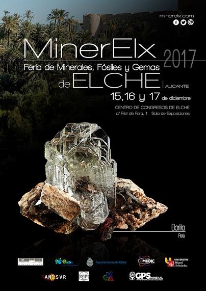 MINERELX - FERIA DE MINERALES, GEMAS Y FOSILES DE ELCHE 2017 Elche_10