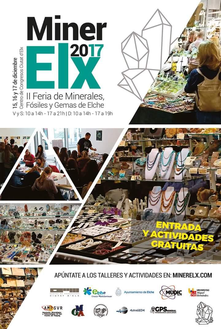 MINERELX - FERIA DE MINERALES, GEMAS Y FOSILES DE ELCHE 2017 Fb_img20