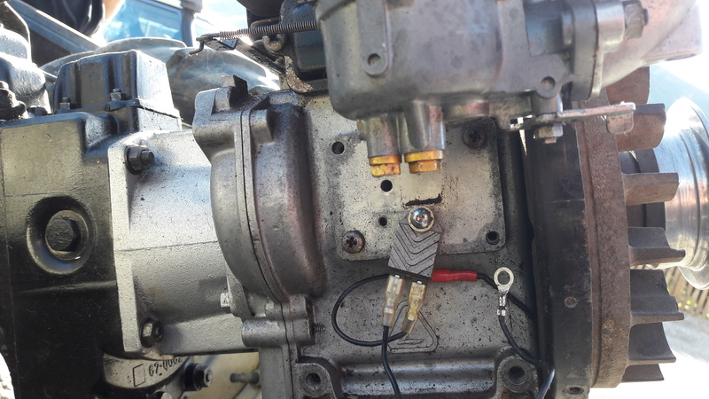 labor - remplacment d'un moteur Lombardini LA 250 20171114