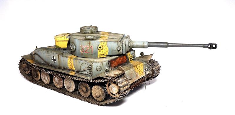 Panzerkampfwagen VI «Tiger P» Dsc01812