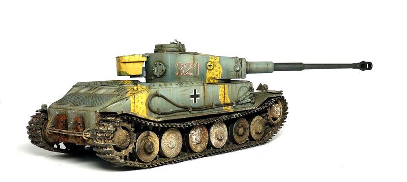 Panzerkampfwagen VI «Tiger P» Dsc01813
