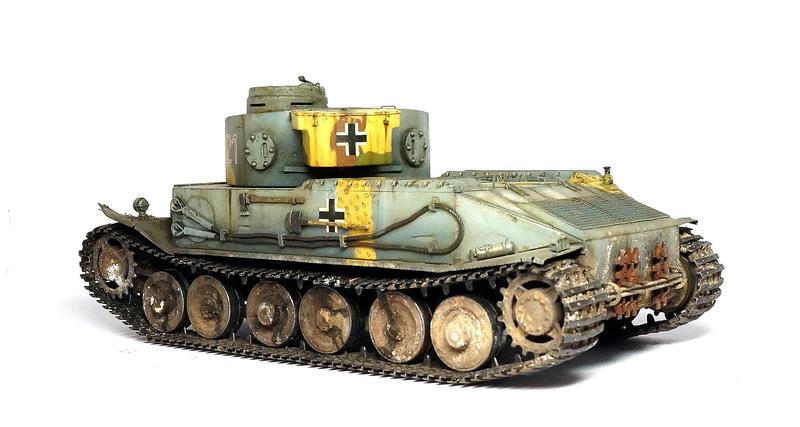 Panzerkampfwagen VI «Tiger P» Dsc01815