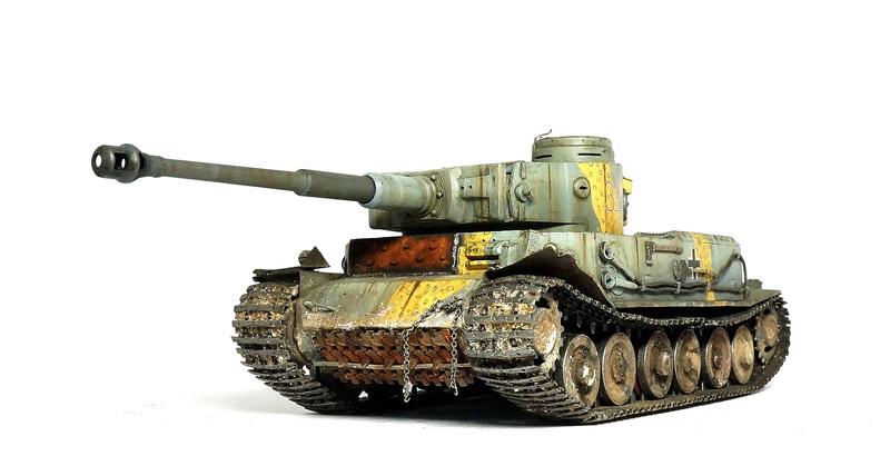 Panzerkampfwagen VI «Tiger P» Dsc01818