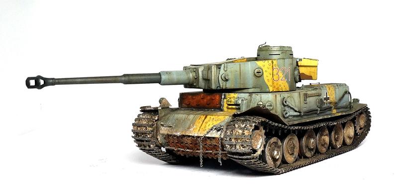 Panzerkampfwagen VI «Tiger P» Dsc01819