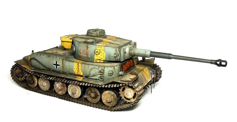 Panzerkampfwagen VI «Tiger P» Dsc01820