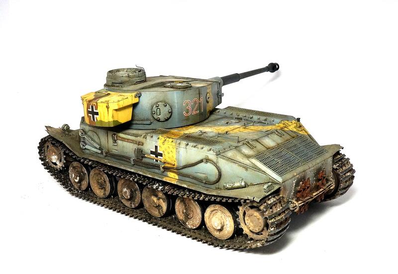 Panzerkampfwagen VI «Tiger P» Dsc01823