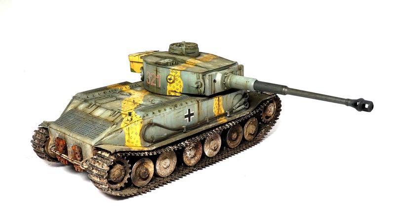 Panzerkampfwagen VI «Tiger P» Dsc01824