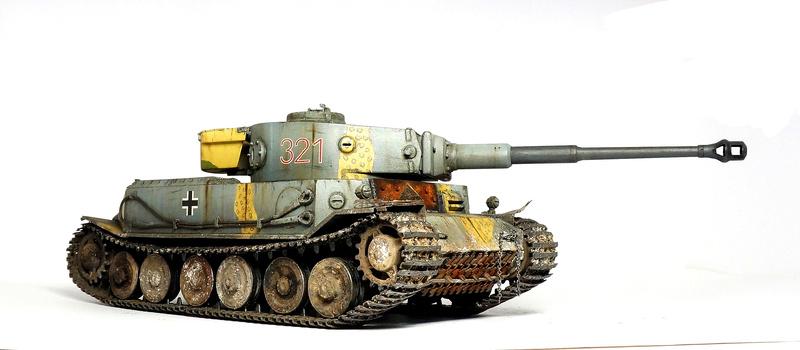Panzerkampfwagen VI «Tiger P» Dsc01825