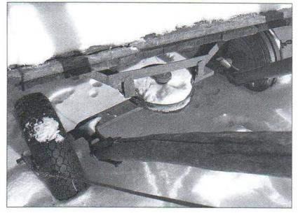 Телега на резиновом ходу 511