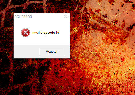 Solucion a error RGL o RUNTIME warband - Página 4 Screen11