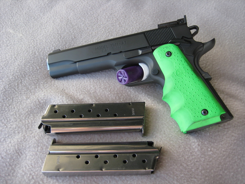 SOLD 9mm Range Officer with extra magazines Ebay__13