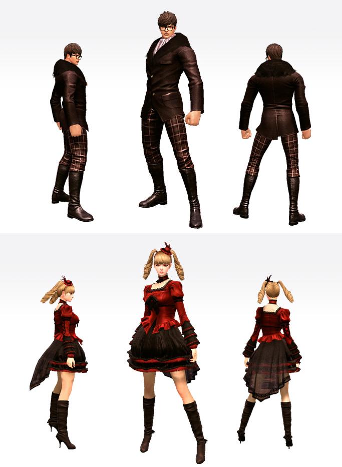 Cabal 2 Costumes Gothic10