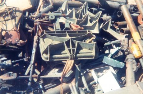 FOTOS DE DESTRUCCION DE DIFERENTES MODELOS DE CETME Y OTRAS ARMAS DEL PATRIMONIO 2012_010