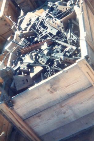 FOTOS DE DESTRUCCION DE DIFERENTES MODELOS DE CETME Y OTRAS ARMAS DEL PATRIMONIO 2012_013