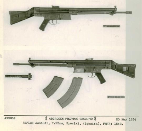 1956 - DESCRIPCION ABREVIADA DEL FUSIL DE ASALTO CETME - CETME A-2a  Tumblr10
