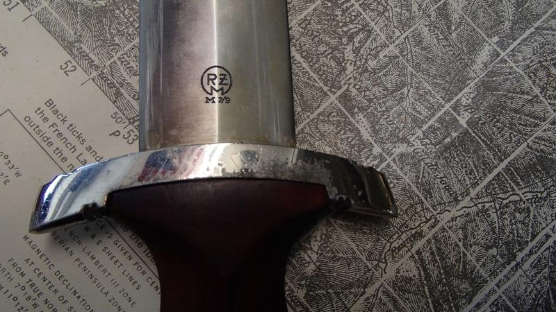 Identification d'une dague SA 30729111