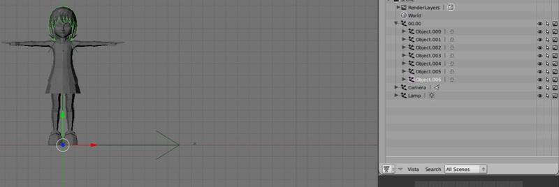 Primeros pasos con el Blender - Intentando convertir un obj en msh Test310