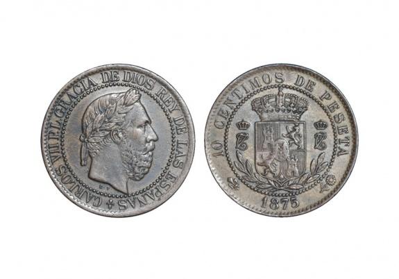 10 Céntimos 1875 Carlos VII C7_10_10