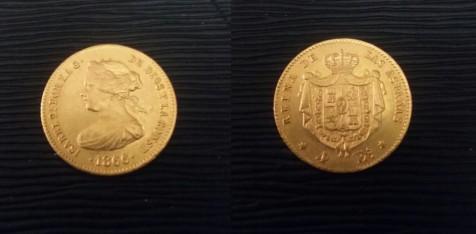 4 Escudos 1866 Isabel II. Madrid Isabel10
