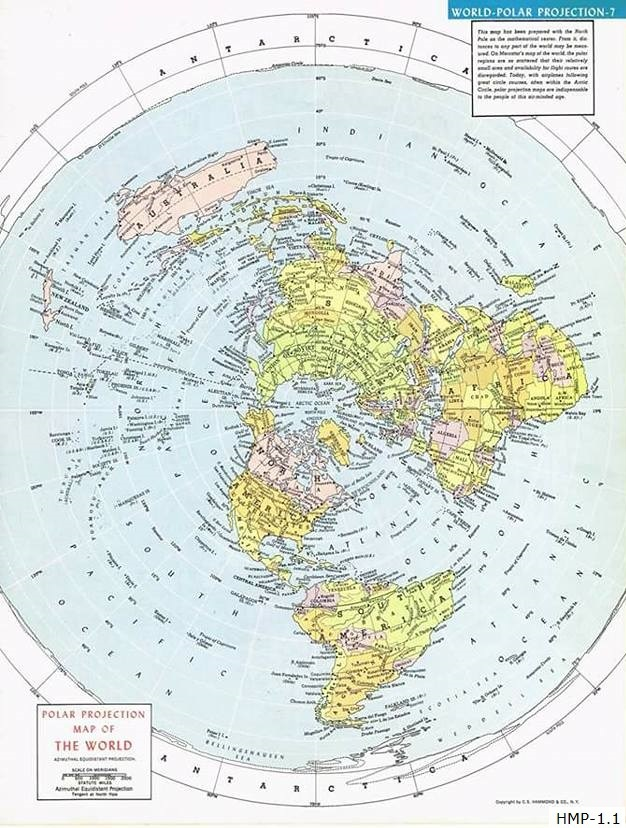 Flat Earth Maps  - Page 6 Hammon12
