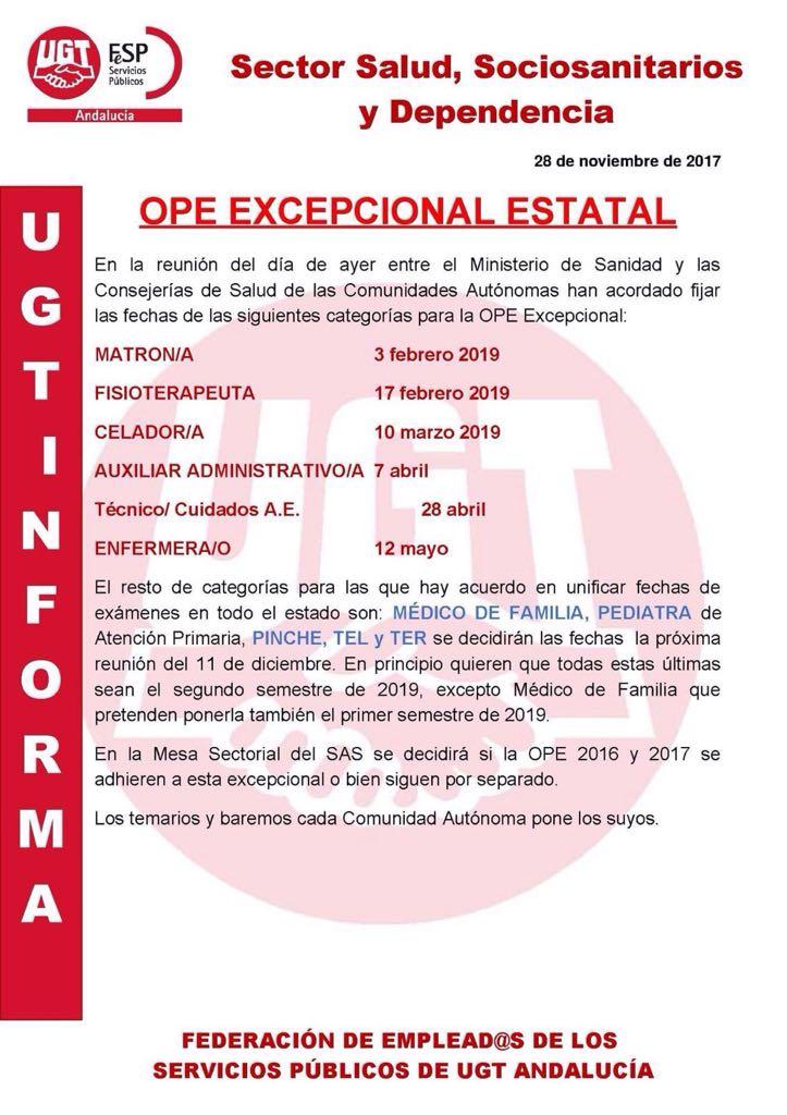 OPEP NACIONAL FECHA EXAMENES Img-2010