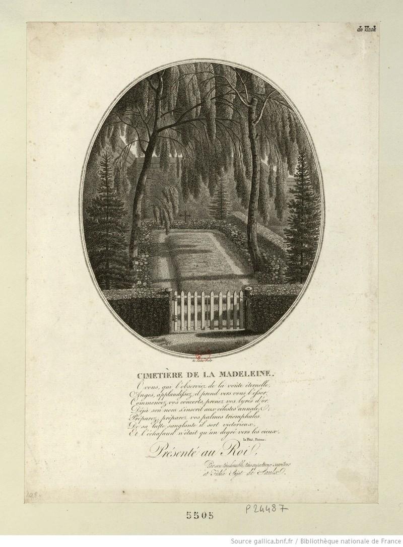 Le cimetière de la Madeleine 112