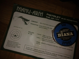 Joint de piston pour pistolet Manu-Arm Photo025