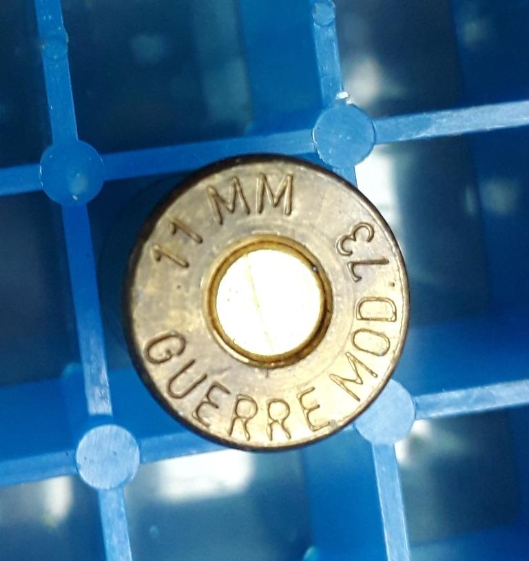 Cartouches 11,73 mm pour revolver 1873 20180311