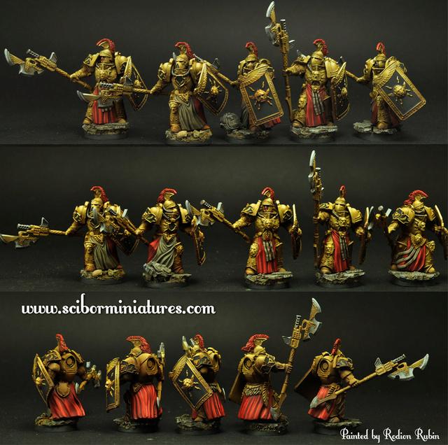 Scibor miniatures Legion10