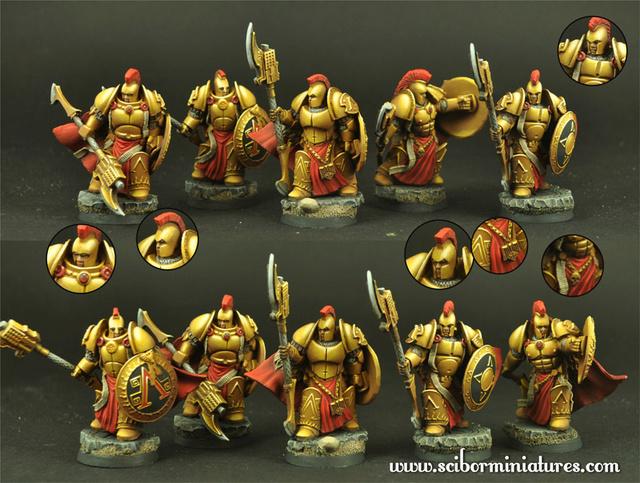 Scibor miniatures Sparta13