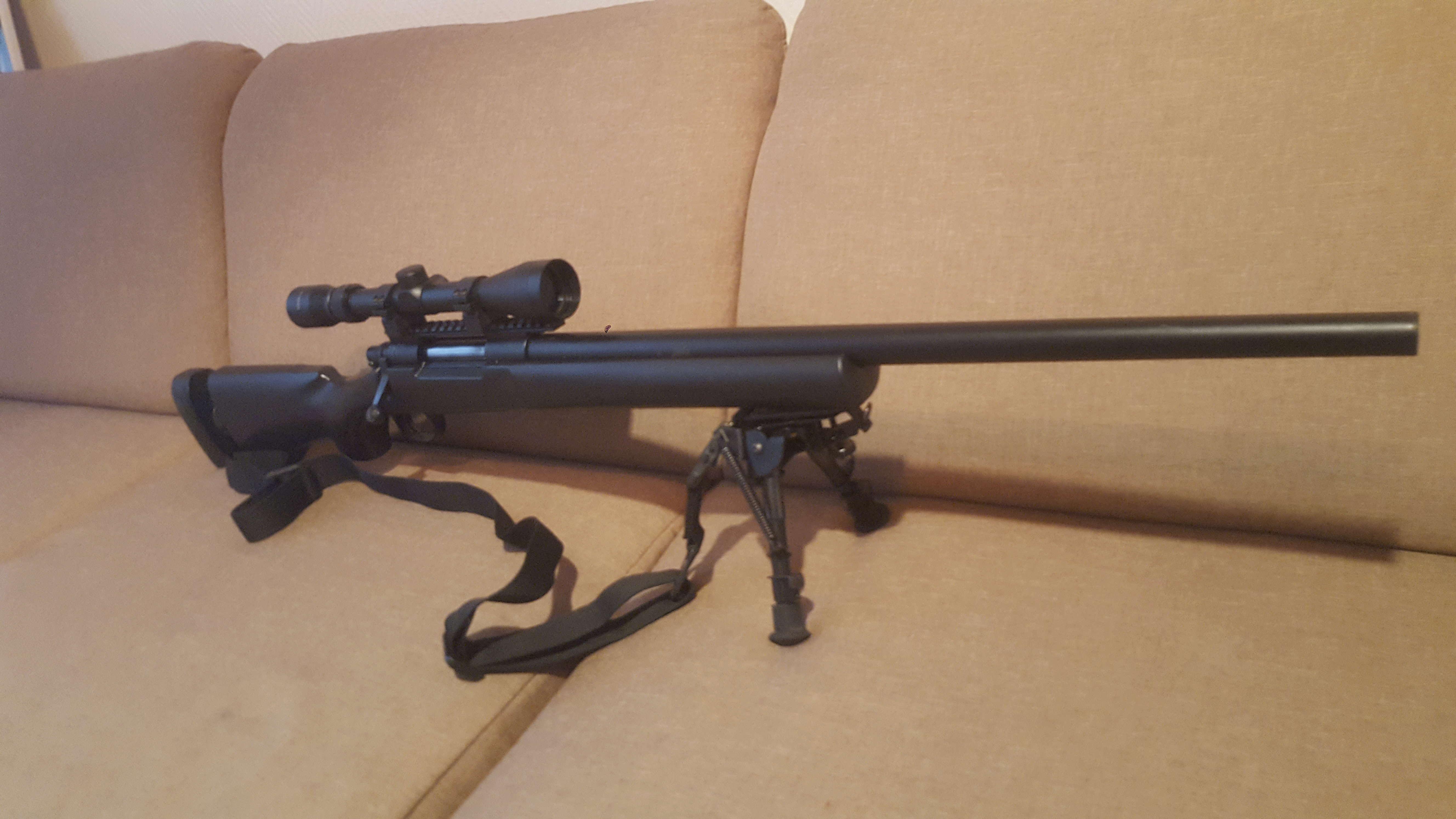SR25 G&G - SCORPIO EVO HPA - M24 FULL MODIFY M24-110